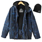 ZeroXposur OXIDE Hooded Snowboard Jacket and Beanie Set - Men
