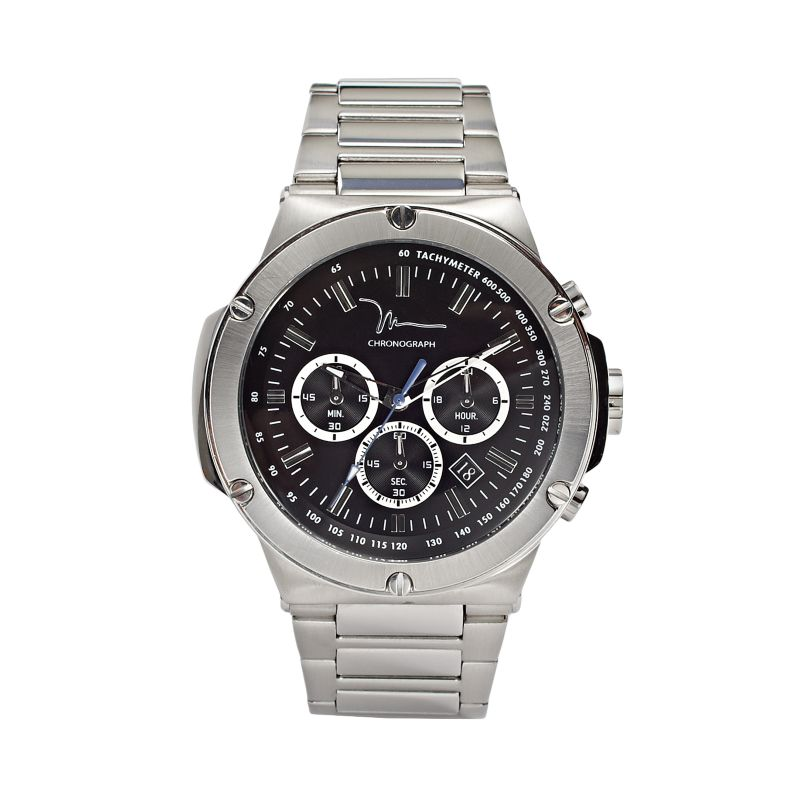 marc anthony stainless steel chronograph 2014