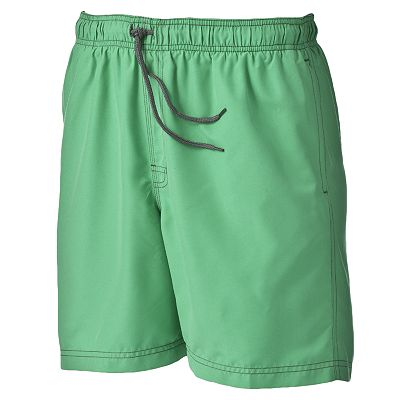 Croft and Barrow Solid Swim Trunks