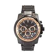 Marc Anthony Black Stainless Steel Chronograph Watch - Men