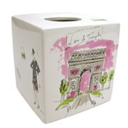 Waverly Tres Chic Tissue Holder