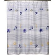 Famous Home Fashions Ocean Shower Curtain