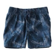 Jumping Beans Car Canvas Shorts - Baby
