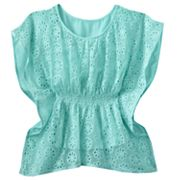 Candie's Eyelet Butterfly Top - Girls 7-16