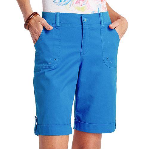 Gloria Vanderbilt Mara Cuffed Bermuda Shorts