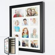 Wood Collage Frame Jewelry Wall Cabinet