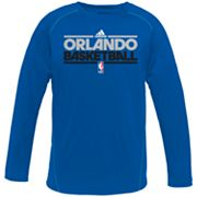 adidas Orlando Magic Heathered Speedwick Performance Tee - Boys 8-20