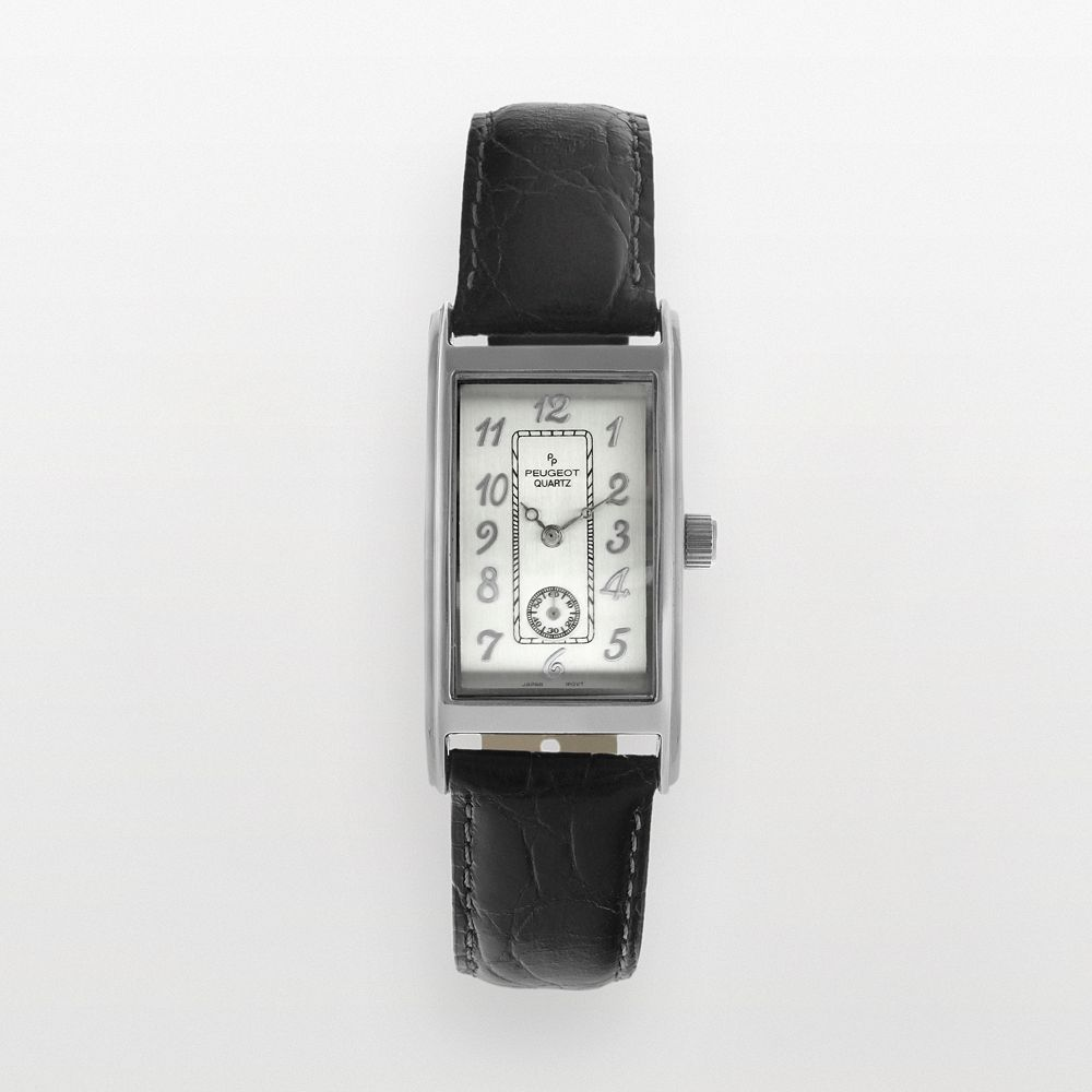 Peugeot Men's Leather Watch - 2039S