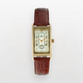 Peugeot Men's Leather Watch - 2039G