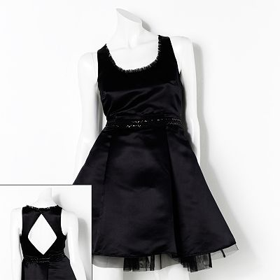 Princess Vera Wang Cutout Dress - Juniors