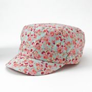 SONOMA life and style Floral Canvas Cadet Hat