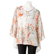 Dana Buchman Watercolor Batwing Top