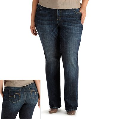 Lee Joplin Slender Secret Bootcut Jeans - Women's Plus