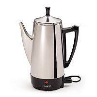 Presto 12 cupStainless Steel Electric Percolator
