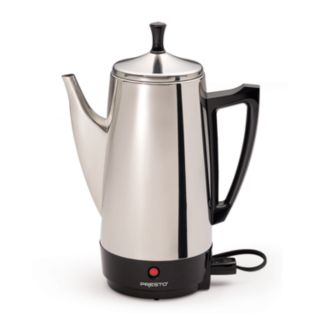 Presto 12-Cup Stainless Steel Electric Percolator