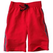 Jumping Beans Side-Stripe Microfiber Reflective Shorts - Boys 4-7x