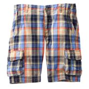 Eddie Bauer Plaid Cargo Shorts - Boys 4-7