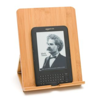 Lipper Bamboo Folding iPad Stand