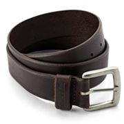 Wolverine Beveled-Edge Leather Belt
