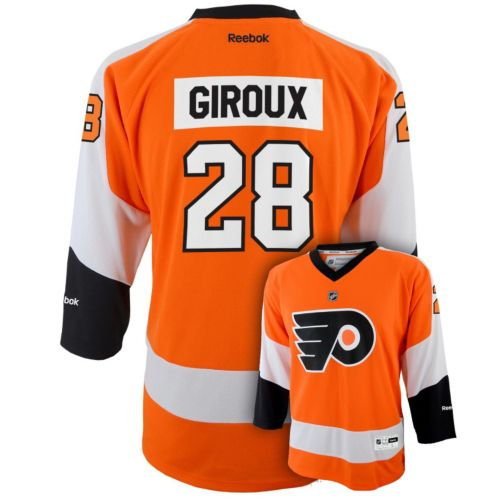 Reebok Philadelphia Flyers Claude Giroux NHL Jersey -  Boys 8-20