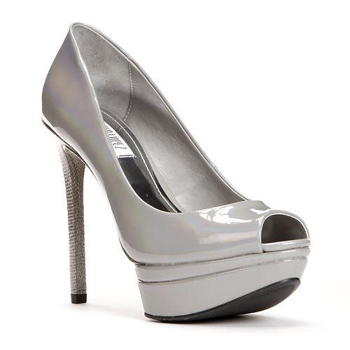 Jennifer Lopez Peep-Toe Platform High Heels - Women