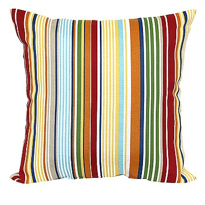 Croft and Barrow Bright Stripe Outdoor Pillow