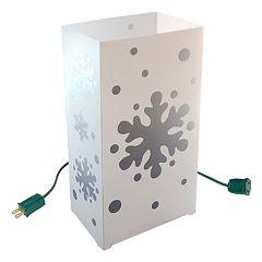 LumaBase 10-pk. Snowflake Electric Luminarias