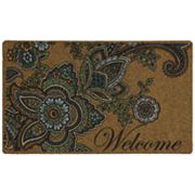 Paisley Welcome Doormat