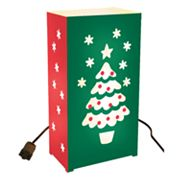 LumaBase 10-pk. Christmas Tree Electric Luminarias