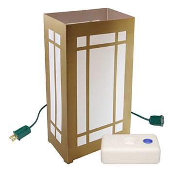 LumaBase 10-pk. Lantern Electric Luminarias with Lumabases