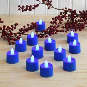 LumaBase 12-pk. Flameless LED Tealight Candles