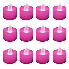 LumaBase 12 pkFlameless LED Tealight Candles