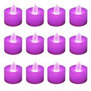 LumaBase 12 pkFlameless LED Tealight Candles