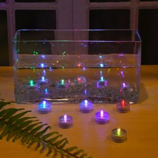LumaBase 12-pk. LED Waterproof Color-Changing Lights