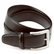 Haggar Feather-Edge Leather Belt