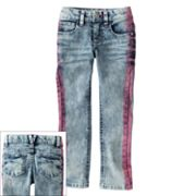 Mudd Tie-Dye Crop Jeans - Girls 4-6x