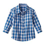 SONOMA life + style Checkered Poplin Shirt - Baby