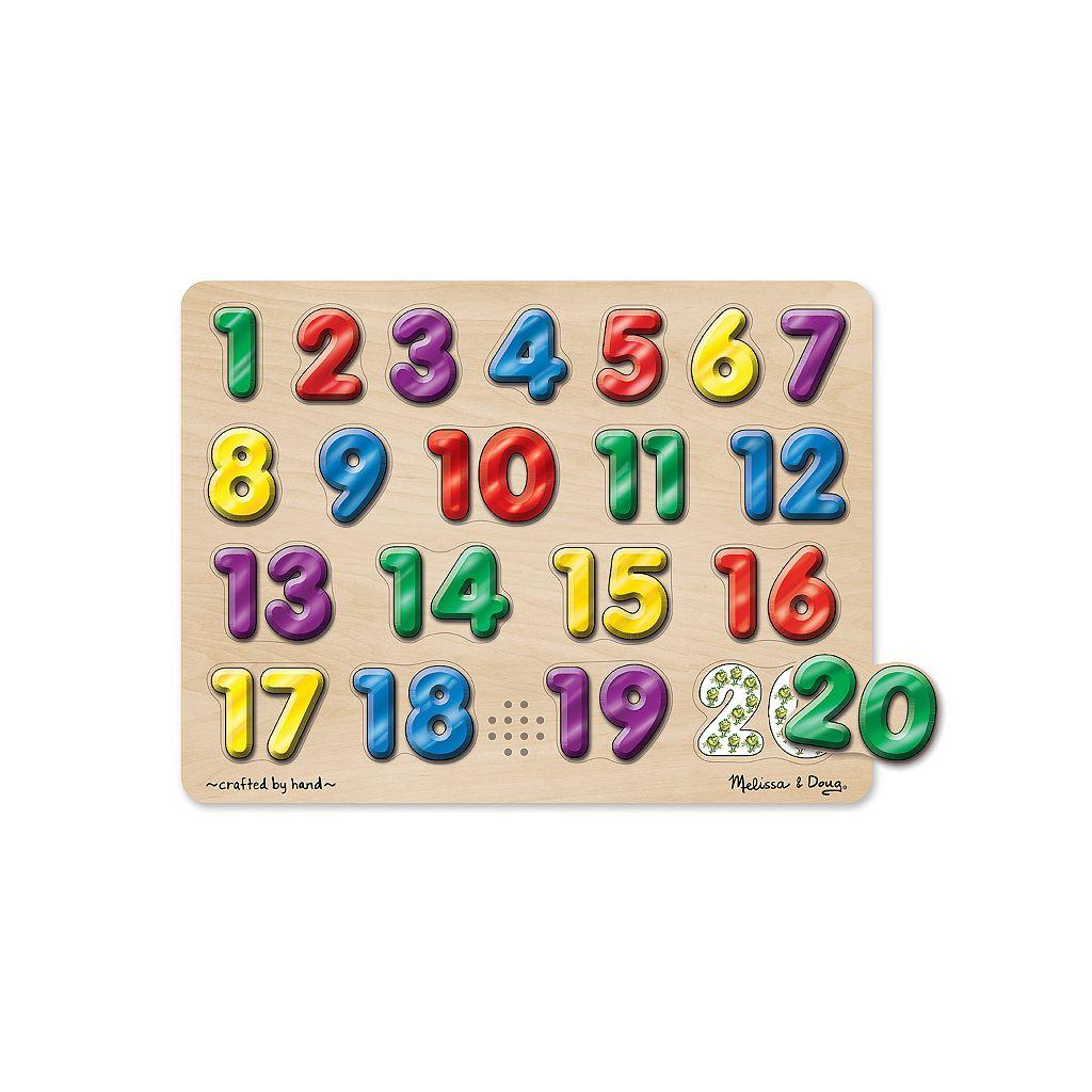 Melissa & Doug Spanish Numbers Sound Puzzle