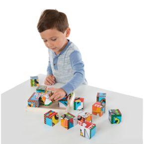 Melissa and Doug Vehicles Cube Puzzle