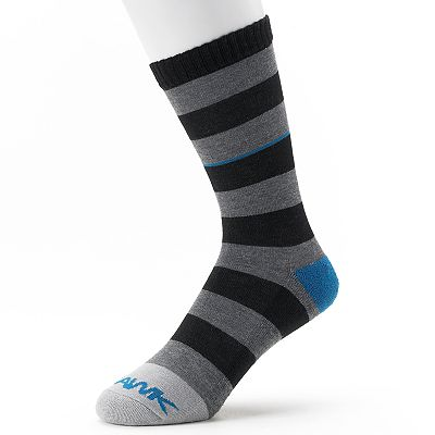 Tony Hawk Rugby-Striped Crew Socks