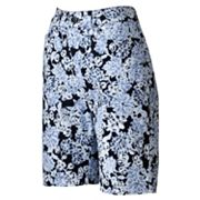 Croft and Barrow Essential Floral Bermuda Shorts