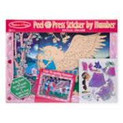Melissa & Doug Peel & Press Sticker by Numbers Mystical Unicorn