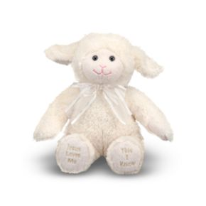 Melissa and Doug Jesus Loves Me Lamb Plush Toy