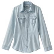 Mudd Denim Shirt - Girls 7-16