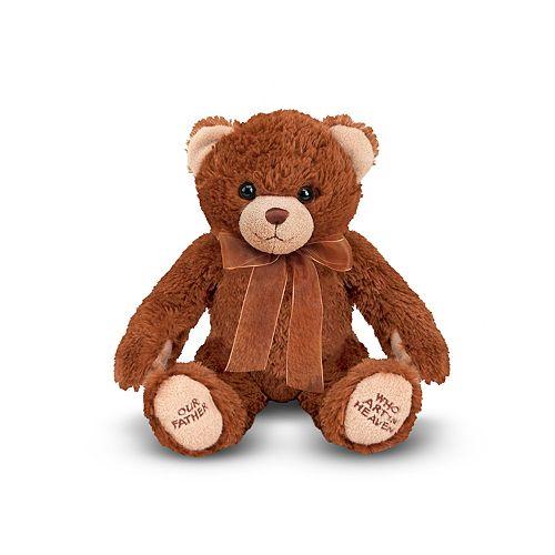 Melissa & Doug Lord's Prayer Teddy Bear