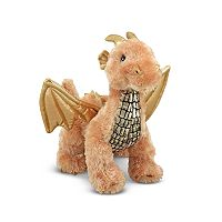 Melissa & Doug Luster Golden Dragon Plush Toy