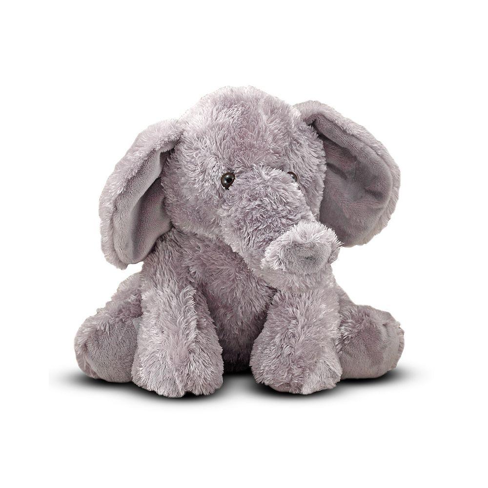 Melissa & Doug Sterling Elephant Plush Toy
