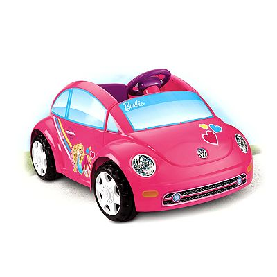 Power Wheels Barbie Volkswagen Beetle Ride-On by Fisher-Price