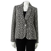 Sag Harbor Animal Jacquard Jacket