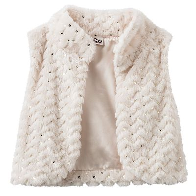 SO Sequin Crop Vest - Girls 7-16